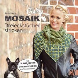 Mosaik, Dreieckstücher stricken von Sylvie Rasch
