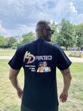 KD Ratio Shirt Black - Backprint