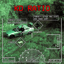 Diggy Mac Dirt & Kong - KD RATIO / Vinyl