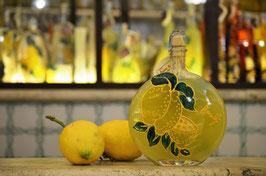 Rotonda bassa cc.500 Decorata a mano Limoni