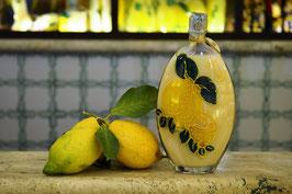 Sogliola cc.500 Crema Decorata a mano Limoni