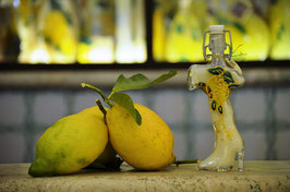 Italia cc.40 Crema Decorata a mano Limoni