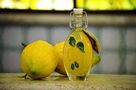 Sogliola cc.40 Decorata a mano Limoni