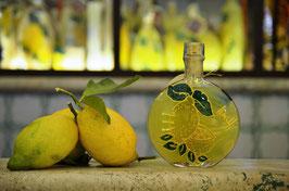 Rotonda bassa cc. 200 Decorata a mano Limoni