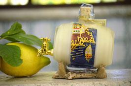 Botte classica cc. 500 Crema Decorata a mano Paesaggio Amalfi