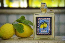 Capri cc. 500 Crema Pannello di ceramica Limoni