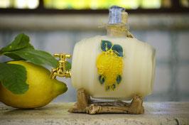 Botte classica cc. 500 Crema Decorata a mano Limoni