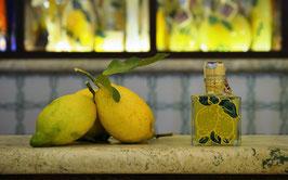Cubo cc. 200 Decorato a mano Limoni