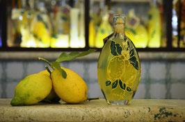 Sogliola cc. 200 Decorata a mano Limoni