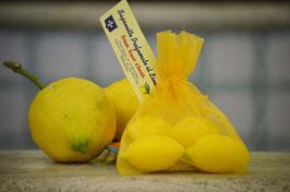 Saponetta vegetale al limone gr.100 (confezione in sacchetti)