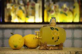 Botte cc. 500 Decorata a mano Limoni