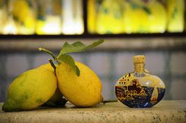 Sabina cc.40  Crema Decorata a mano Amalfi