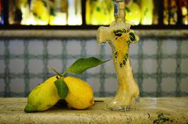 Italia cc. 200 Crema Decorata a mano Limoni