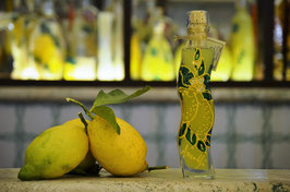 Onda cc. 200 Decorata a mano Limoni