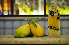 Jenny cc. 200 Crema Decorata a mano Limoni
