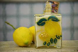Capri cc. 500 Crema Decorata a mano Limoni