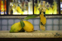 Onda cc. 200 Crema Decorata a mano Limoni