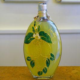 Sogliola cc.500 Decorata a mano Limoni