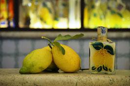 Capri cc.200 Crema Decorata a mano Limoni