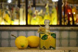 Cubo cc. 500 Decorato a mano Limoni