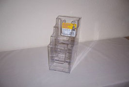 Multi Pocket 4 Tiered Literature Holder