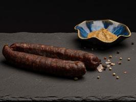 Rauchwurst nature (100% Rind) - 1 Paar (zum warm essen)