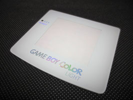 Gameboy Color Light Displayscheibe mit Hologramm-Effekt