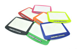 Gameboy Advance Displayscheibe farbig