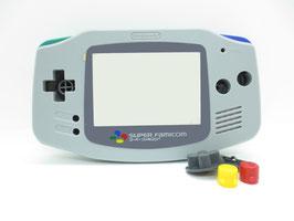 Gameboy Advance Gehäuse IPS-Ready