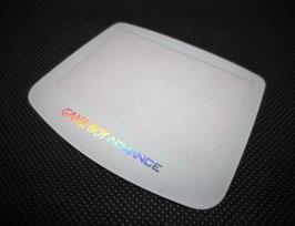 Gameboy Advance Displayscheibe Glas weiß