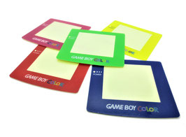 Gameboy Color Displayscheibe farbig