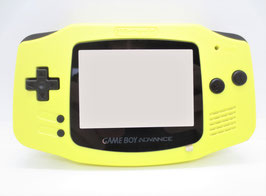 Gameboy Advance Gehäuse Softtouch Cleanjuice & IPS Ready