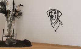 LineArt Labrador