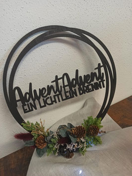 Floral-Hoop Advent Advent