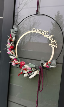 Floral-Hoop Familie außen