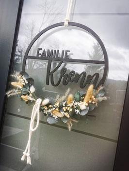 Floral-Hoop Familie innen
