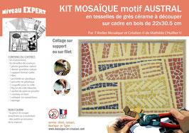 GD KIT MOSAIQUE - MOTIF AUSTRAL