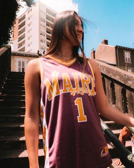 Maillot de Basket Marcus Ginyard Grenat
