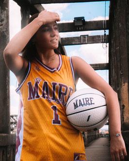 Maillot de Basket Marcus Ginyard Jaune