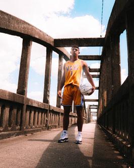 Ensemble de basket Marcus Ginyard Jaune