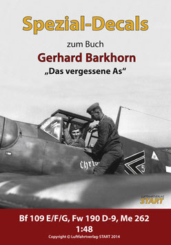 "Decals for ""The forgotten Ace"" – Fighter Pilot Gerhard Barkhorn"