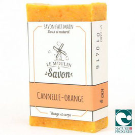 Savon Cannelle Orange au jus de carotte