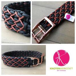 Halsband Spider rosé