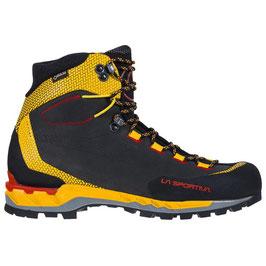 "La Sportiva; Wanderschuh ""Trango Tech Leather GTX"" black/yellow"