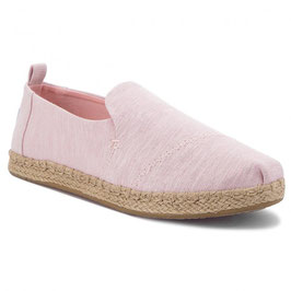 "TOMS SCHUHE ""DECONSTRUCTED ALPARGATE ROPE"" BLOSSOM SLUB CHAMBRAY"