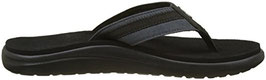 "TEVA SANDALEN ""VOYA CANVAS FLIP FLOP"" DARK SHADOW"