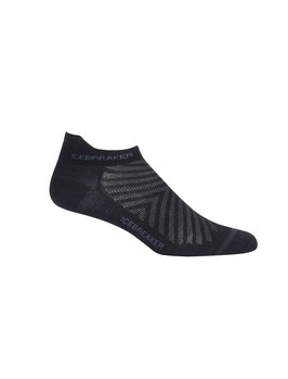 ICEBREAKER RUN+ ULTRALIGHT MICRO HERREN BLACK