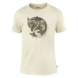 "Fjällräven; T-Shirt ""Arctic Fox T-shirt M"" chalk white"