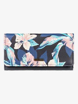 Roxy Hazy Daze - Dreifach faltbares Portemonnaie Anthracite Tropicoco S