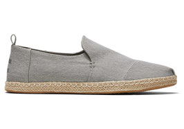 """Toms; Freizeitschuh """"M'S Deconstructed Alpargata Rope"""" dizzle grey eco/dyed twill"""